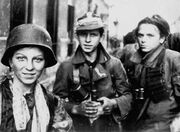 Warsaw Uprising boyscouts