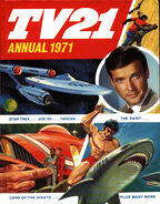 TV21 Annual 1971 Cover