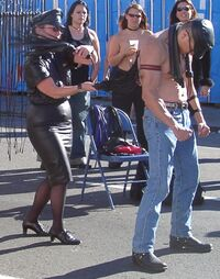 Flogging demo folsom 2004