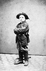 Child soldier in the US Civil War