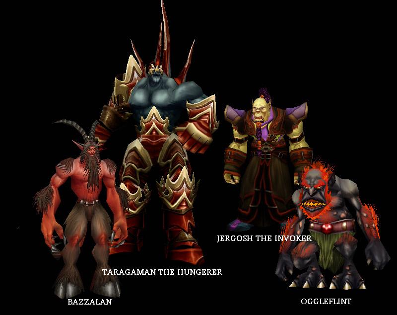 I boss di Ragefire Chasm