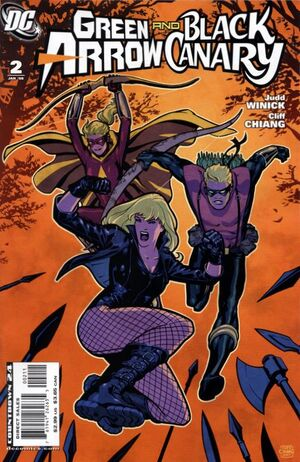 Cover for Green Arrow and Black Canary #2