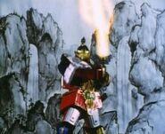 MMPR Thunder Megazord Attacks
