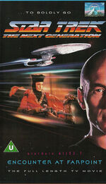 Encounter at Farpoint TV Movie cover