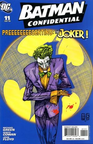 Cover for Batman Confidential #11 (2008)