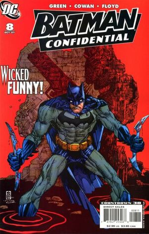 Cover for Batman Confidential #8 (2007)