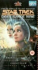 DS9 4.3 UK VHS cover