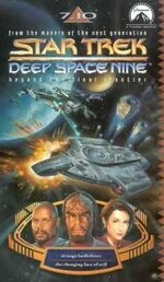 DS9 7.10 UK VHS cover