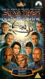 DS9 7.13 UK VHS cover