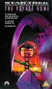 The Voyage Home 1998 UK VHS cover