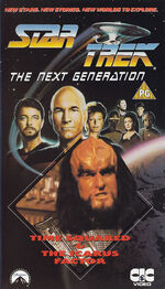 TNG vol 20 UK VHS cover