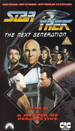 TNG vol 31 UK VHS cover