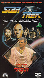 TNG vol 36 UK VHS cover