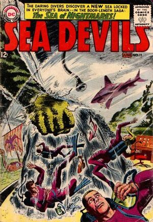 Cover for Sea Devils #11