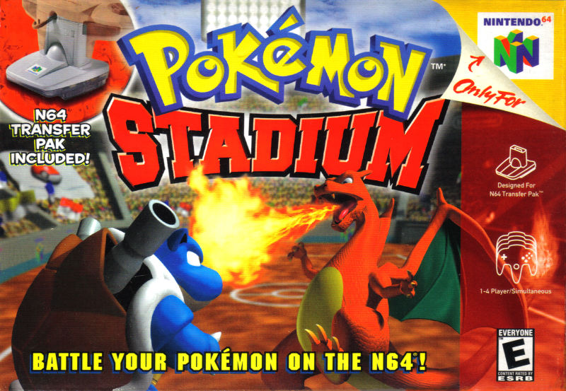 N64 Pokemon Stadium NA