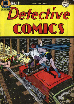 Cover for Detective Comics #111