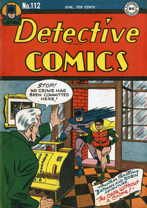 Cover for Detective Comics #112