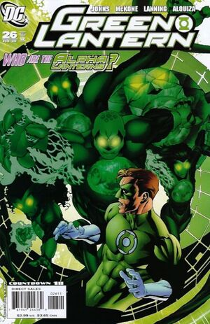Cover for Green Lantern #26
