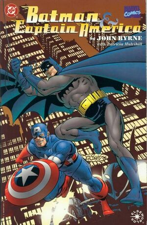 Cover for Batman and Captain America #