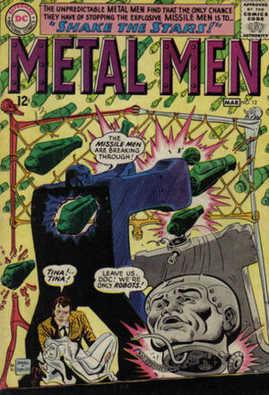 Cover for Metal Men #12