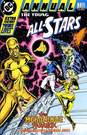 Cover for Young All-Stars #1