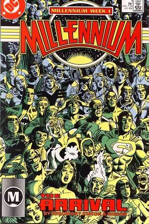 Cover for Millennium #1