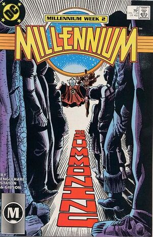 Cover for Millennium #2