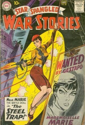 Cover for Star-Spangled War Stories #88