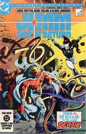 Cover for Jemm, Son of Saturn #2