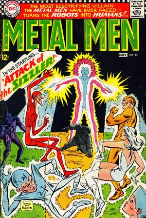 Cover for Metal Men #22
