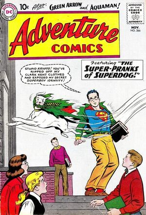 Cover for Adventure Comics #266