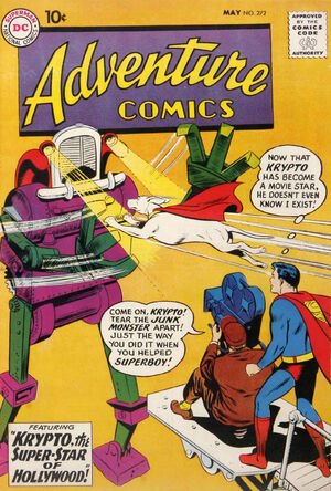Cover for Adventure Comics #272