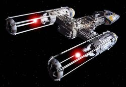 Y-Wing back