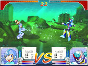 Rockman Strategy vs Freeze Man