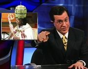 Colbert Report.The Poprah Copyright Dare.20080128