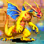 Flame Dragon Small