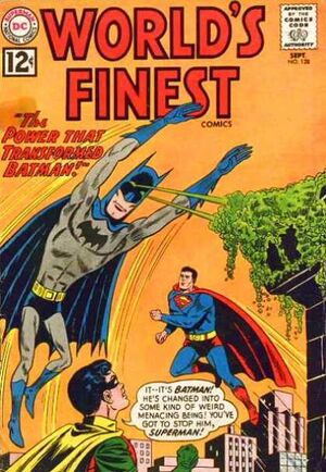 Cover for World's Finest #128