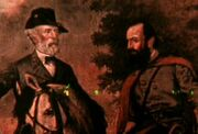 Robert E Lee and Stonewall Jackson