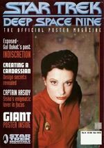 DS9 Poster Magazine issue 4 cover