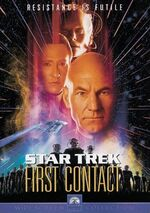 Star Trek First Contact DVD cover