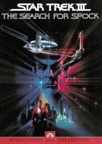Star Trek III The Search for Spock DVD cover