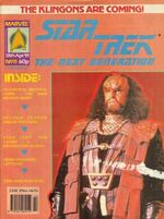 Marvel TNG magazine issue 11 cover