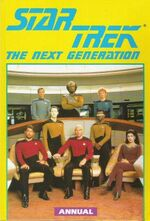 Marvel TNG 1992 annual cover