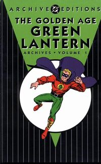 Golden Age Green Lantern Archives, Volume 1