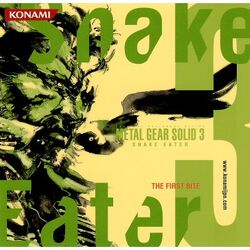 Metal Gear Solid 3 Snake Eater The First Bite cover