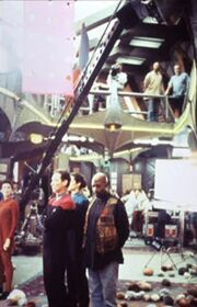 On the set of 'Trials and Tribble-ations'