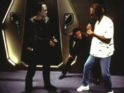 Michael Dorn directing 'Inquisition'