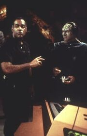 Michael Dorn directing 'When It Rains...'