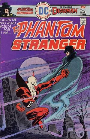 Cover for Phantom Stranger #41