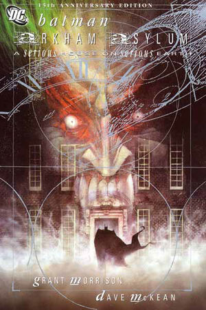 Cover for Arkham Asylum: A Serious House on Serious Earth #1